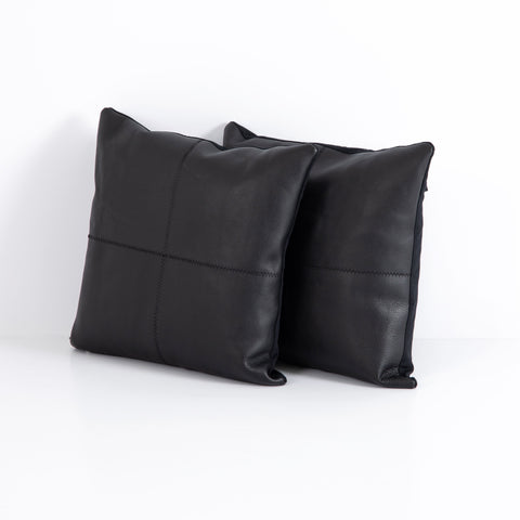 Sandro Leather Pillow Set of 2
