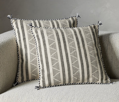 Itzel Triangle Pillow Set by BD Studio