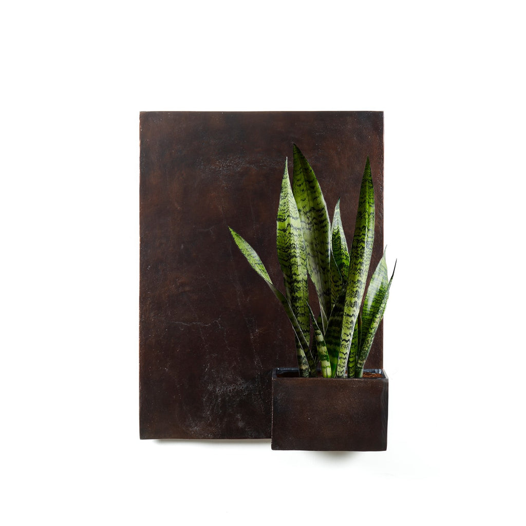 Ozur Tall Wall Planter