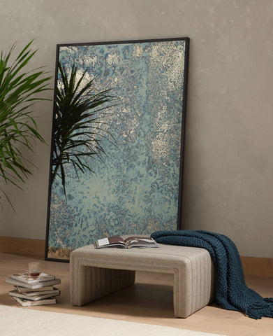 Acid Wash Floor Mirror by BD Studio