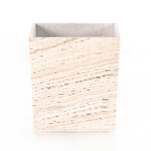 Travertine Planter by BD Studio