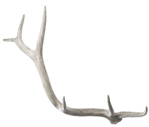 Weathered Resin Elk Antler design by Lazy Susan