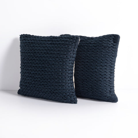 Alvia Outdoor Pillow Sets in Various Colors