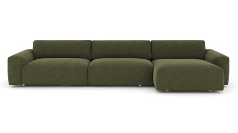 Fenton 2 Piece Sectional in Various Colors