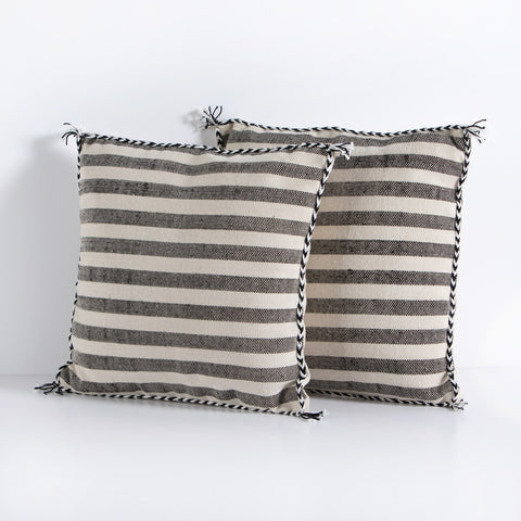 Itzel Striped Pillow by BD Studio