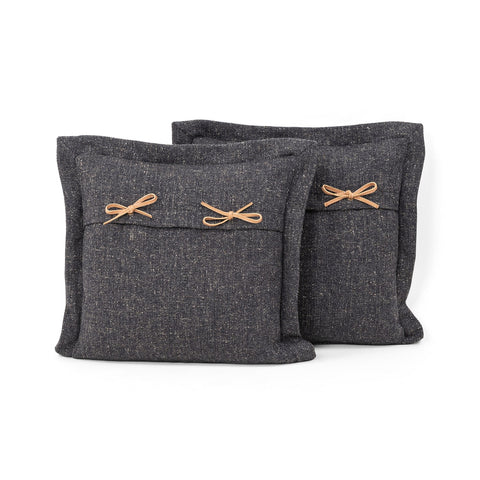 Thames Pillow in Thames Slate