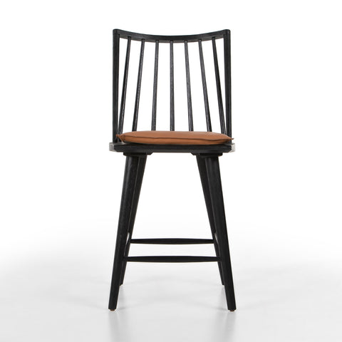 Lewis Windsor Counter Stool with Cushion by BD Studio