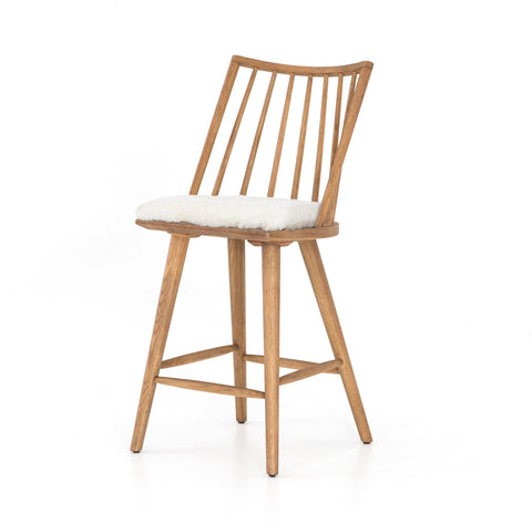 Lewis Windsor Counter Stool with Cushion