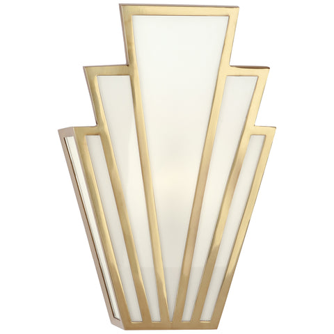 Empire Wall Sconce in Various Finishes design by Robert Abbey