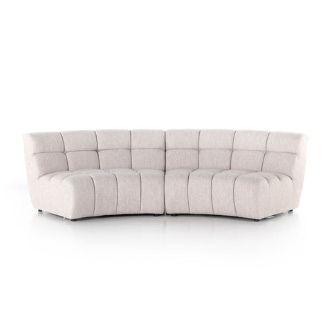 Gemma 2-Piece Sectional by BD Studio