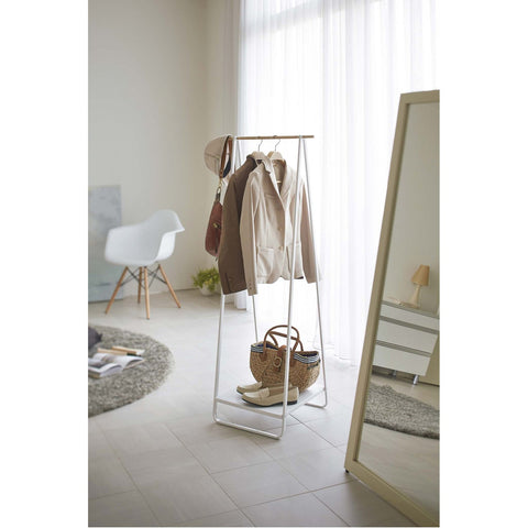 Tower Freestanding Garment Rack by Yamazaki