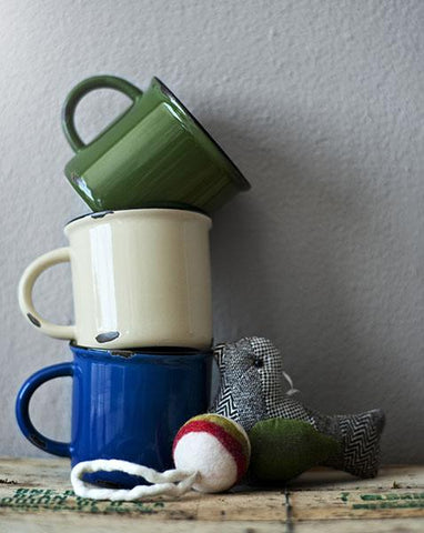 Tinware Mug Gift Sets in Various Colors design by Canvas
