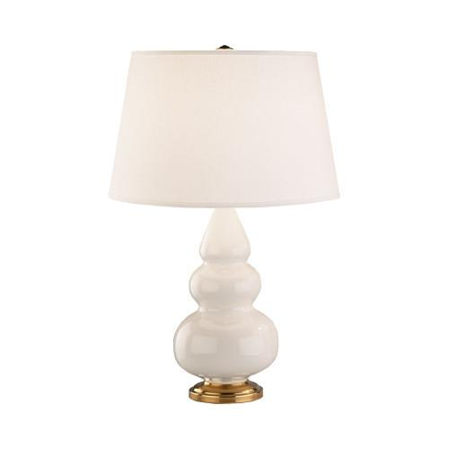Triple Gourd Collection Small Accent Table Lamp design by Robert Abbey