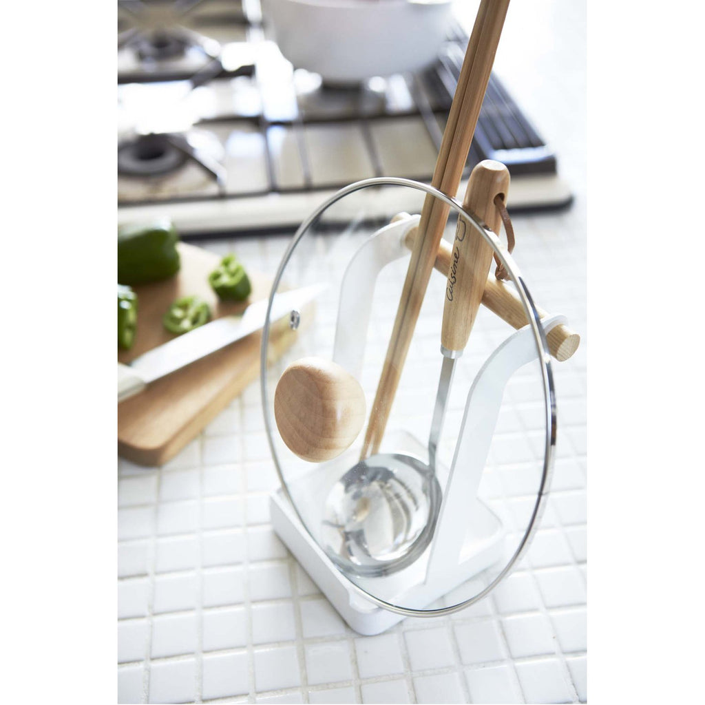 Tosca Ladle & Lid Stand by Yamazaki