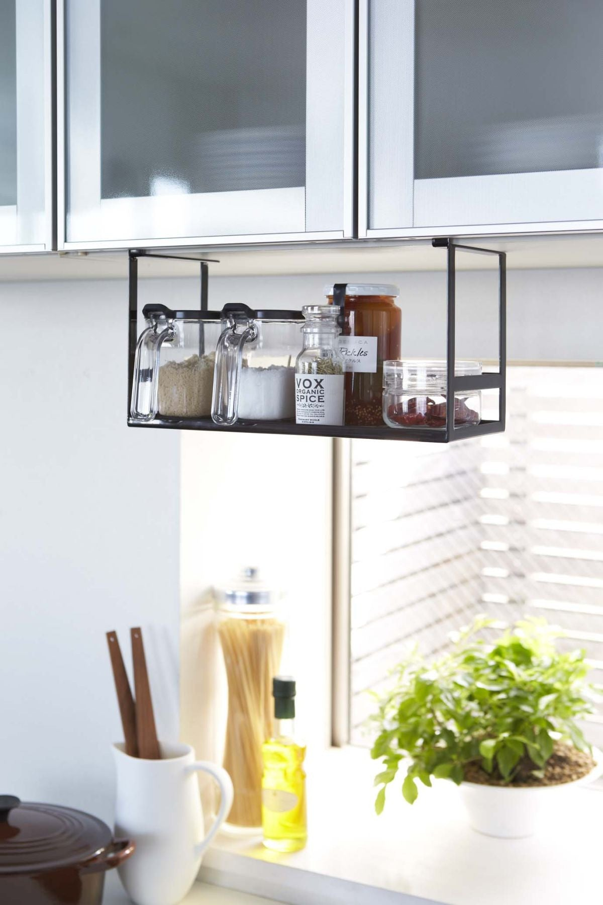 Tower Under Shelf Spice Rack in Various Colors design by Yamazaki ...