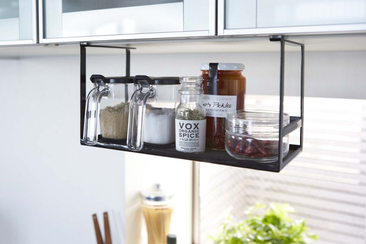 Tower Under Shelf Spice Rack In Various Colors Design By Yamazaki