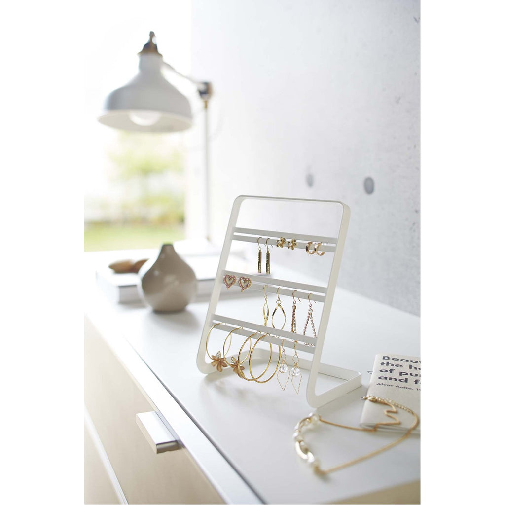 Tower Earring Stand by Yamazaki