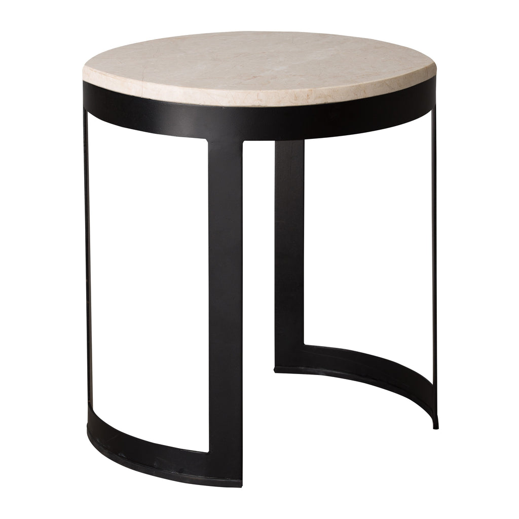 Cyrus Metal Stool/Table
