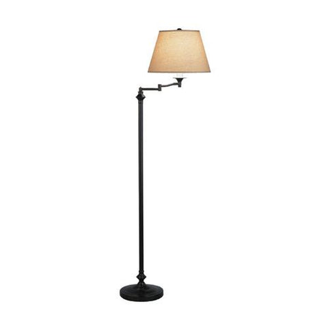 Wilton Swing Arm Floor Lamp by Robert Abbey