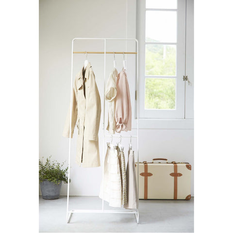 Tower 2-Level Coat Rack by Yamazaki