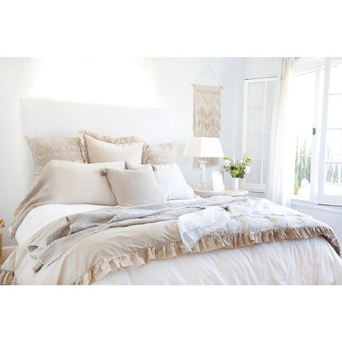 Madison Duvet Set in Taupe design by Pom Pom at Home
