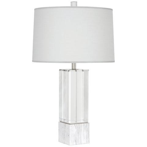 Hugo Table Lamp in Various Finishes design by Robert Abbey