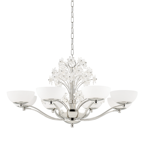 Beaumont 10 Light Chandelier by Hudson Valley