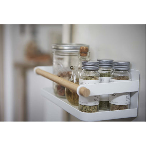 Tosca Magnet Spice Rack - Wood Accent by Yamazaki