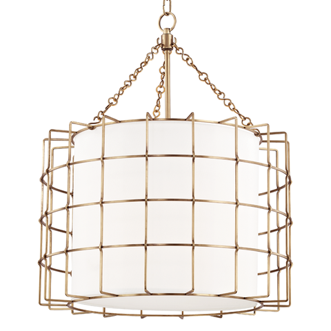 Sovereign 3 Light Pendant by Hudson Valley Lighting