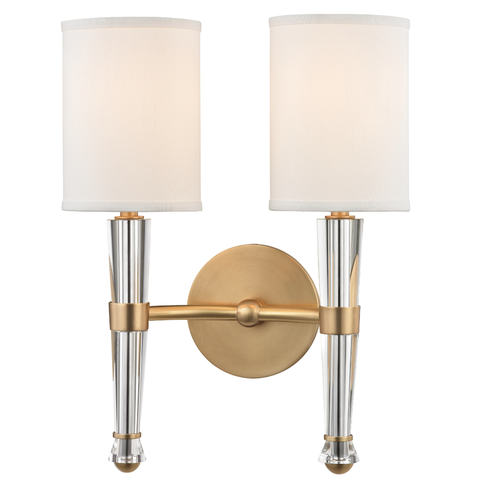 Volta 2 Light Wall Sconce by Hudson Valley Lighting
