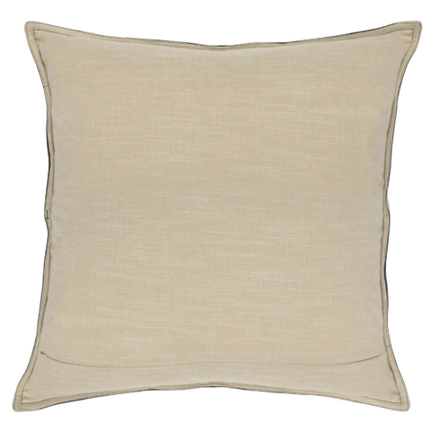 Leather Pike Gray Pillow