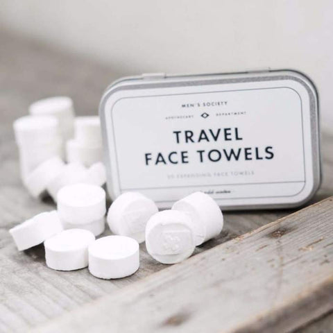 Travel Face Towels design by Men's Society