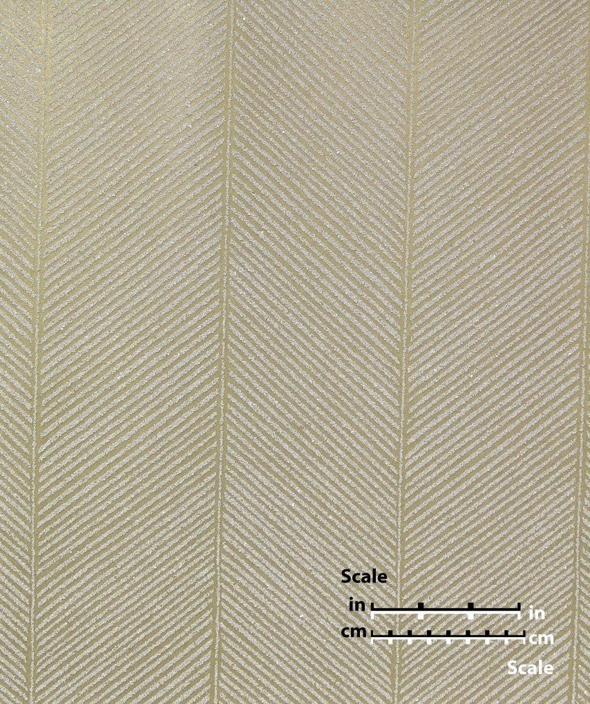 Sample Herringbone Mica Wallpaper from the Desire Collection by Burke Decor