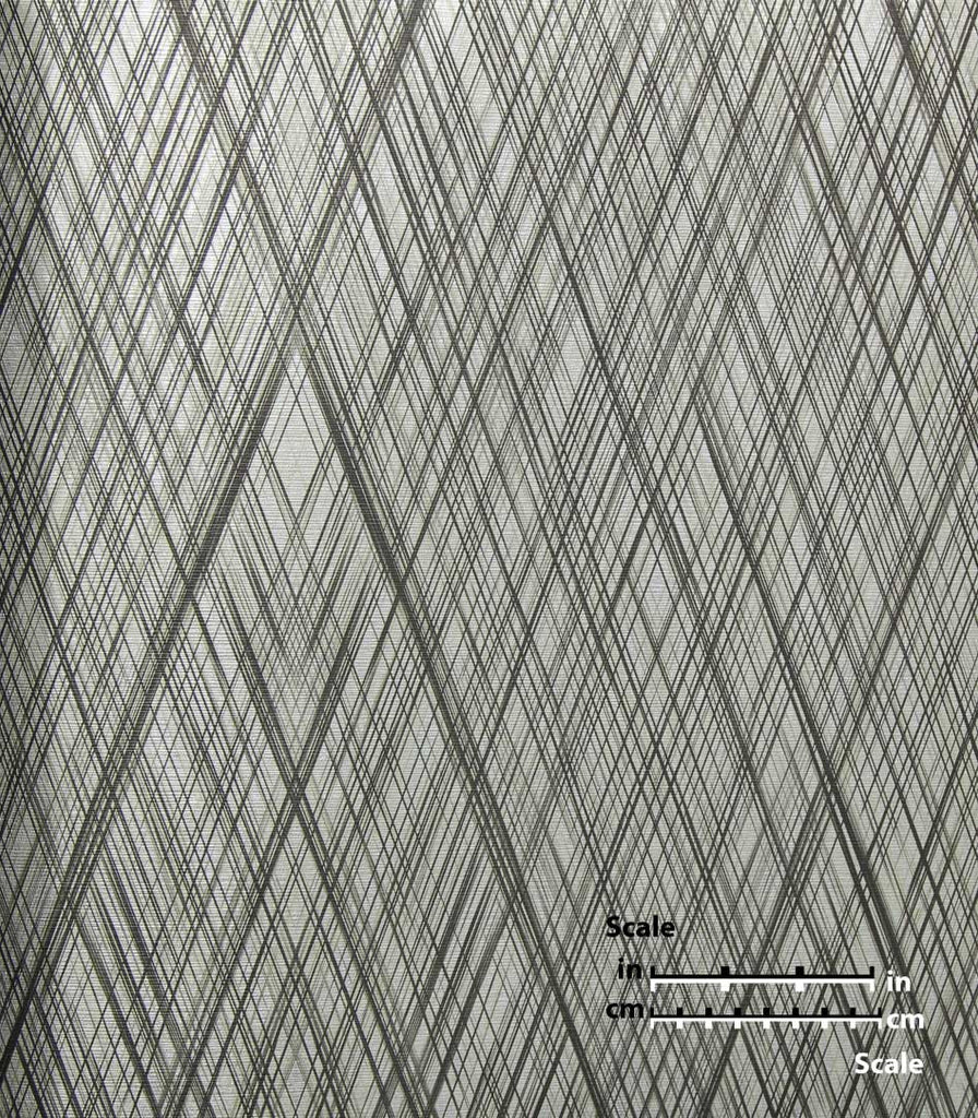 Sample Striated Diamond Wallpaper from the Desire Collection by Burke Decor