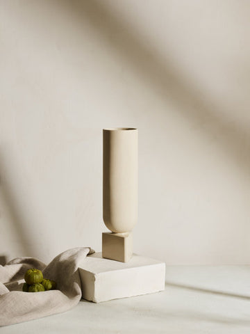 TAVA Large Ceramic Vase design by Light and Ladder