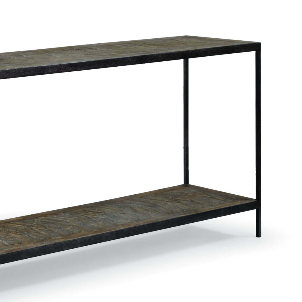 Herringbone Console Table design by Regina Andrew