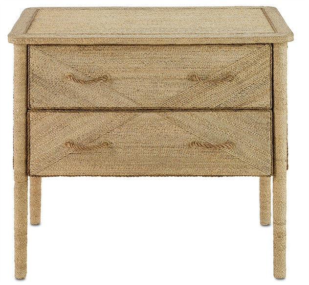 Kaipo Two Drawer Chest design by Currey & Company