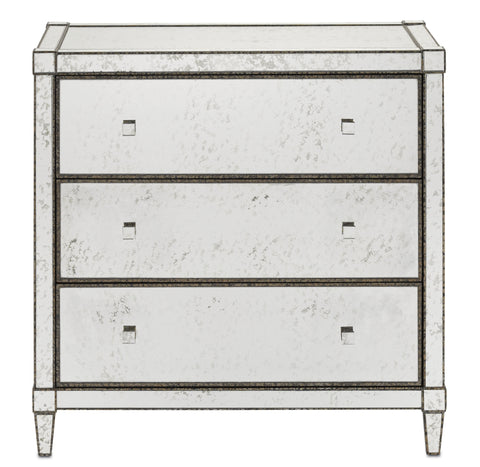 Monarch Three Drawer Chest design by Currey & Company