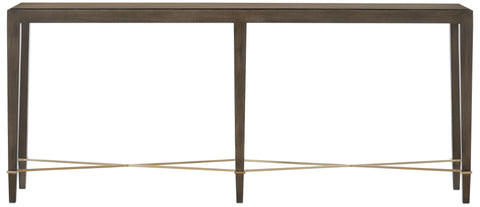 Verona Chanterelle Console Table design by Currey & Company
