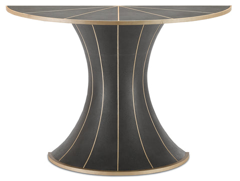 Castille Demi-Lune Table design by Currey & Company