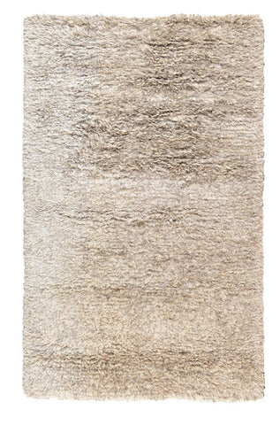 The Ritz Shag Rug in Light Gray