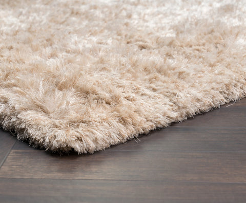 The Ritz Shag Rug in Ivory design by Classic Home