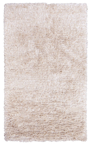 The Ritz Shag Rug in Ivory