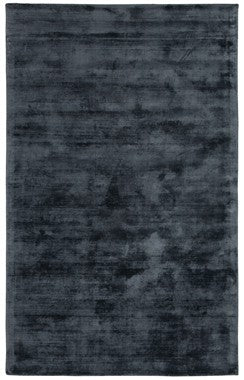 Berlin Distressed Rug in Ink Blu