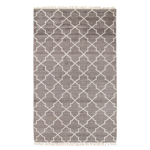 Hand Knotted Terrace Rug in Taupe by BD Home