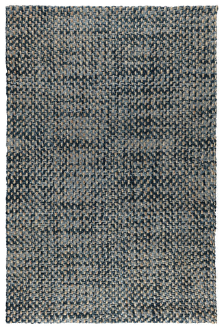 Ladera Bold Rug in Indigo by BD Home