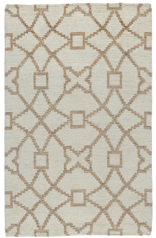Marlow Rug in Ivory & Natural by BD Home