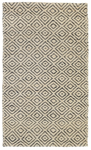 Artemis Rug in Ivory & Black by BD Home