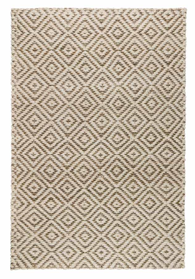 Artemis Rug in Ivory & Grey by BD Home