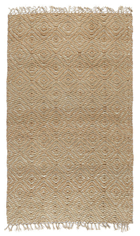 Artemis Fringe Rug in Natural & Ivory by BD Home
